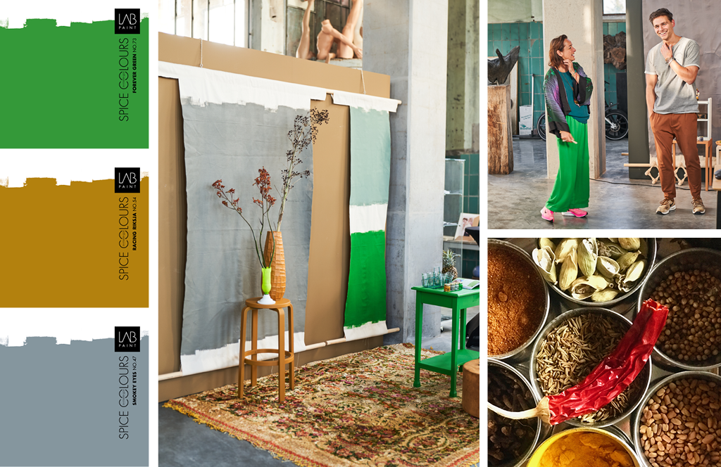 spice colours collection by Marie-Gon voor Vestingh